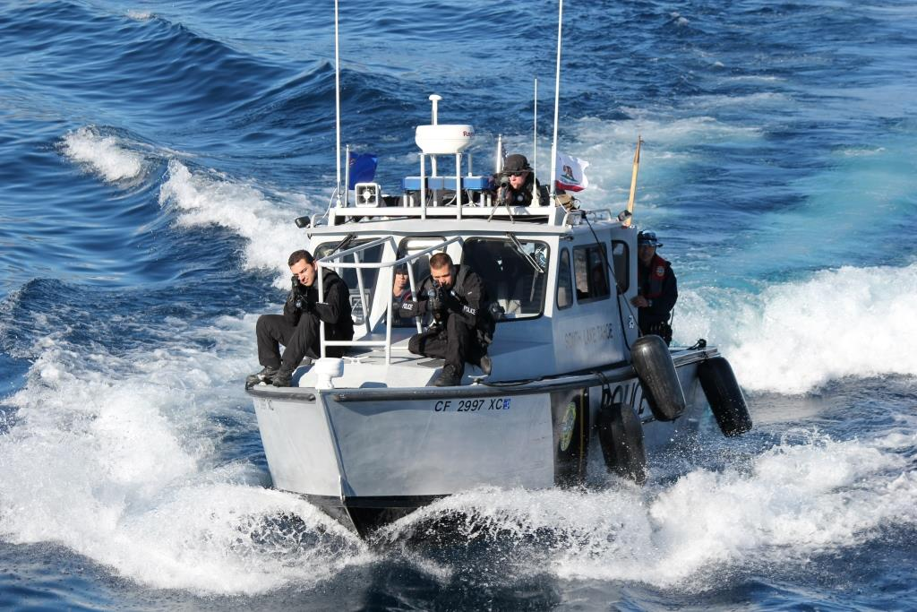 South Lake Tahoe Police Department SWAT Team Maritime Training