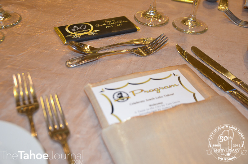 Table menu and silverwear