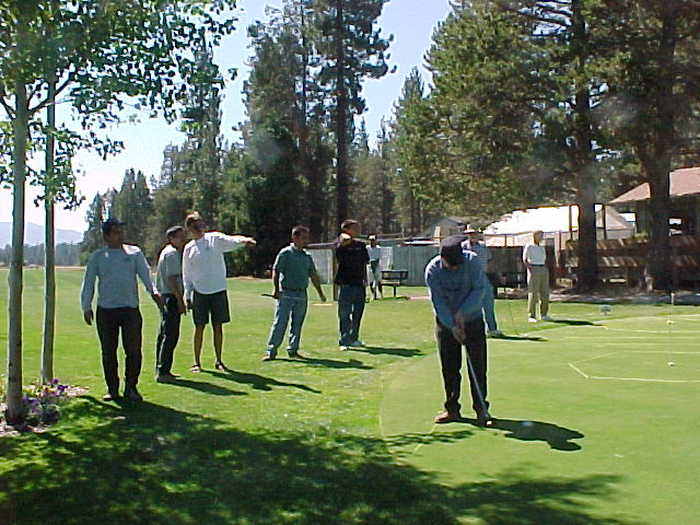 People at Bijou Golf Party