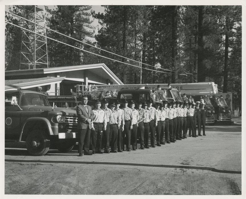 South Lake Tahoe Fire Department circa 1970