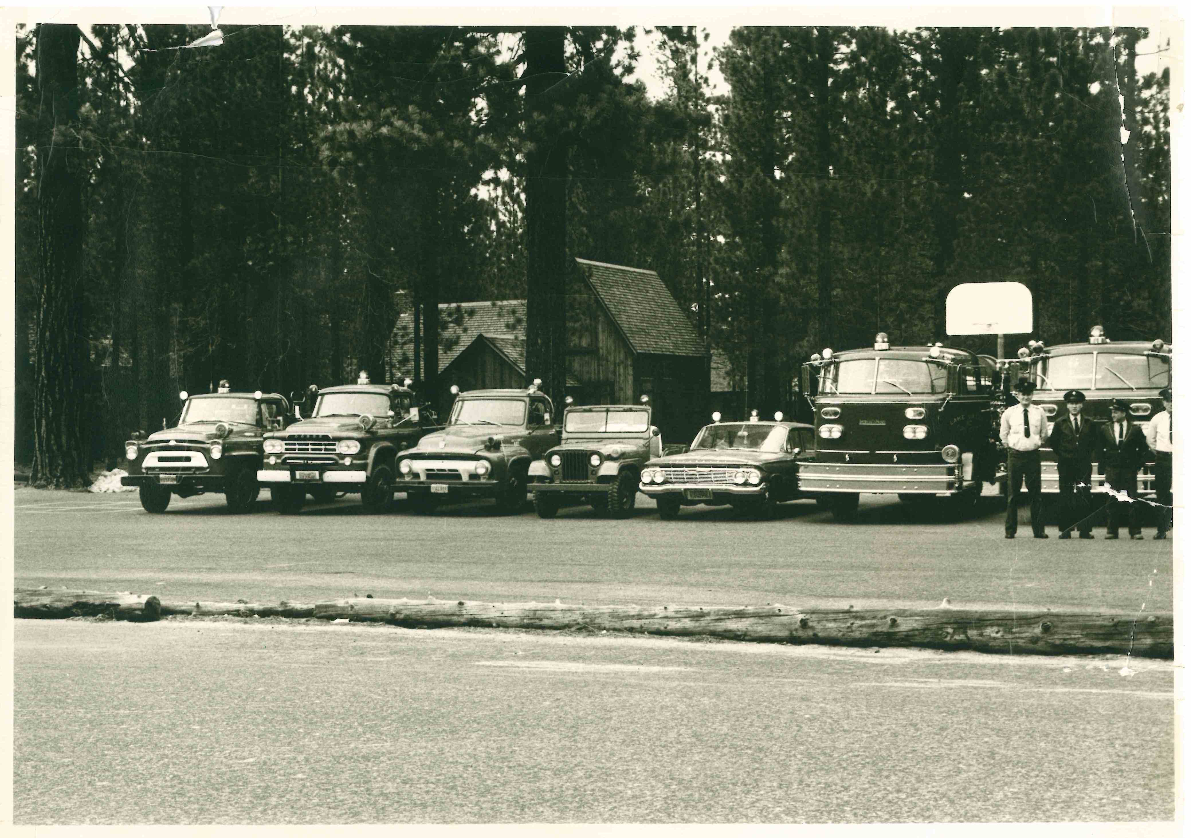 Fire Department 1961 vehicles