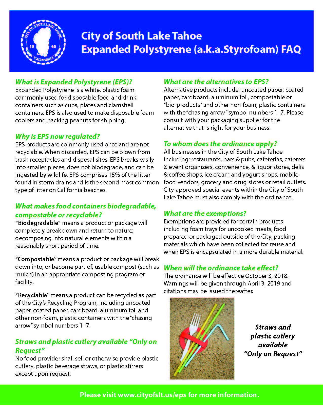 Expanded Polystyrene (EPS) Flyer page 2