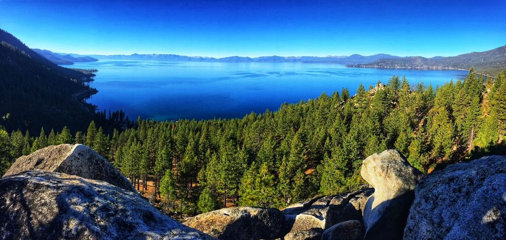 Lake Tahoe from Tunnel Creek 10.27.17