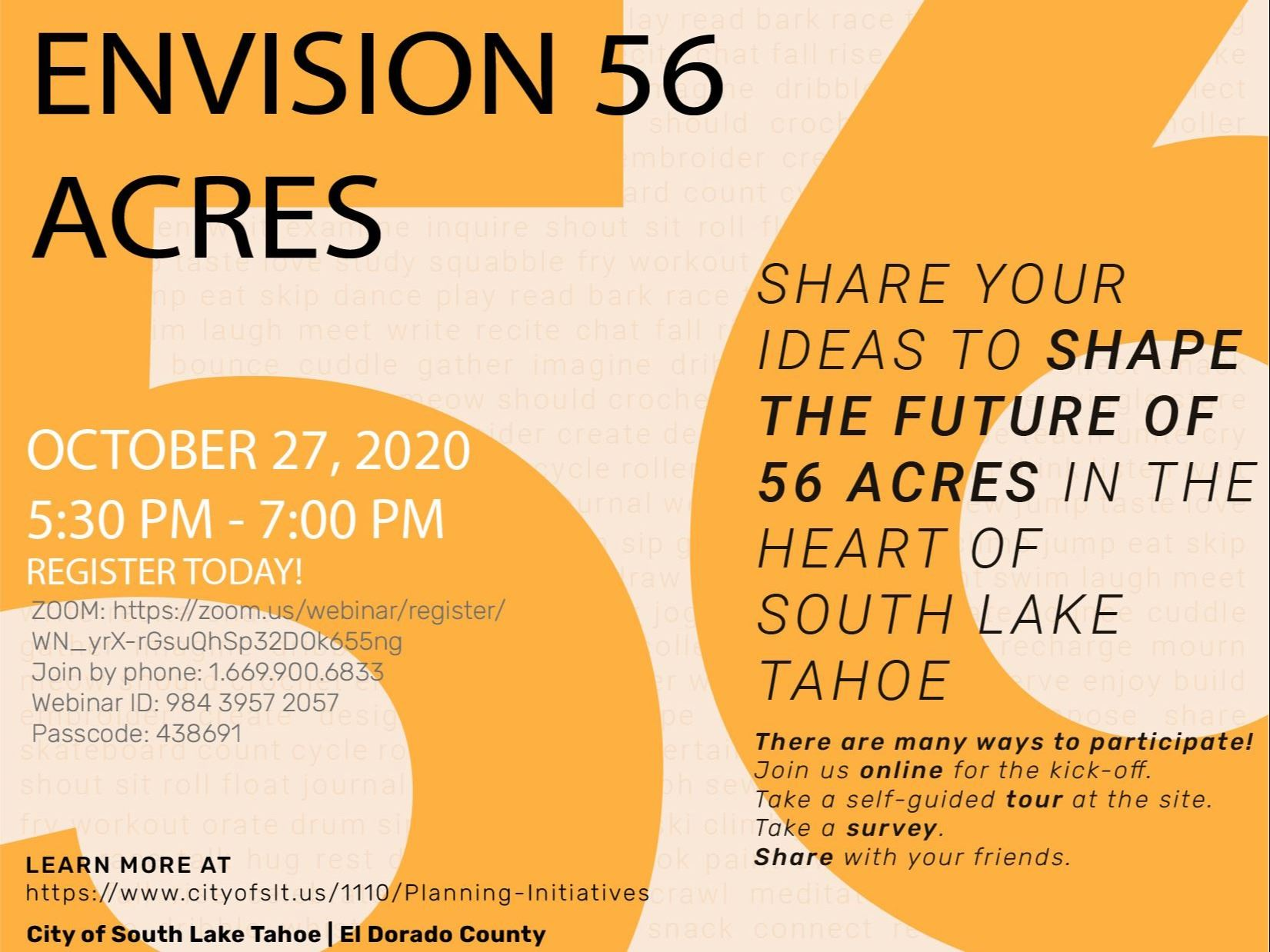 Envision 56 Acres Flyer-oct 27-01