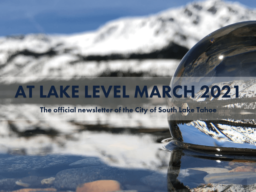 At Lake Level March 2021
